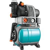 GARDENA Hauswasserwerk Comfort 4000/5 eco: Hauswasserpumpe mit Trockenlaufsicherung, Rückschlagventil, 3 Anschlüsse, Motorleistung 850W, Fördermenge 3500 l/h (1754-20)