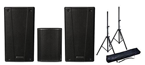 DB Technologies System Audio komplett 860W PAAR b-hype 10Aktive Lautsprecher/Subwoofer/Stative