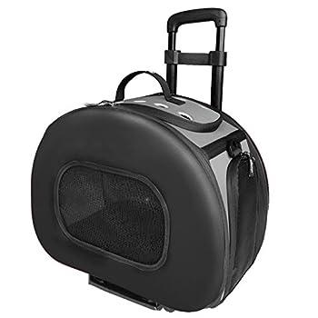 Tough-shell Valise de transport à roulettes pour chien