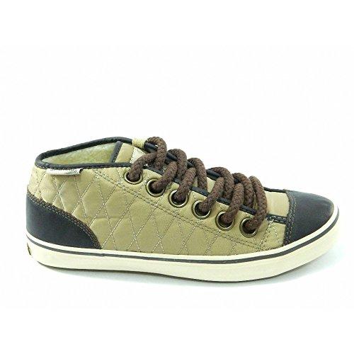 Spalding - Spalding scarpe vintage Net Quilted Nylon Beige - Beige, 41