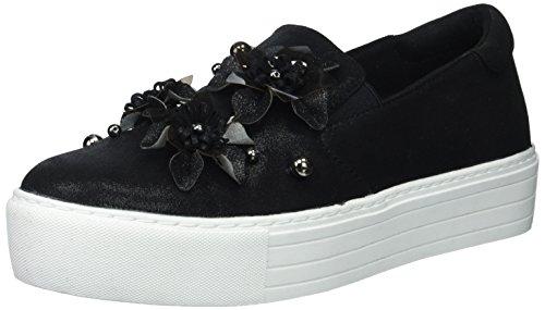 Kenneth Cole Reaction Women's Cheer Floral Applique Platform Slip Sneaker