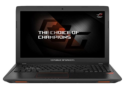 Asus ROG GL553VD-FY072T 39,6 cm (15,6 Zoll, FHD matt) Gaming Laptop (Intel Core i7-7700HQ, 8GB RAM, 128GB SSD, 1TB HDD, NVIDIA GeForce GTX1050, DVD, Win 10 Home) schwarz