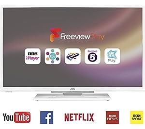 """JVC LT-32C661 Smart 32"""" LED TV - White"""