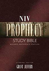 Niv Prophecy Study Bible Bonded Leather: Marked Reference Edition