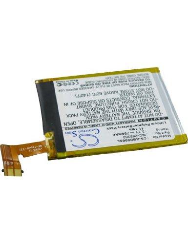 Batterie type AMAZON MC-265360, 3.7V, 750mAh, Li-Pol