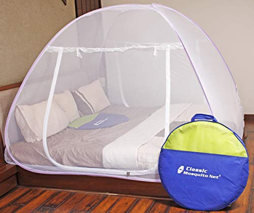 Classic Mosquito Net For Double Bed (Purple)