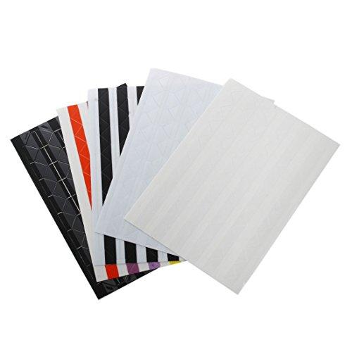 SODIAL(R) 5 Blatt Fotoecke Aufkleber Sticker Scrapbooking Album (Markenzeichen Scrapbooking Aufkleber)