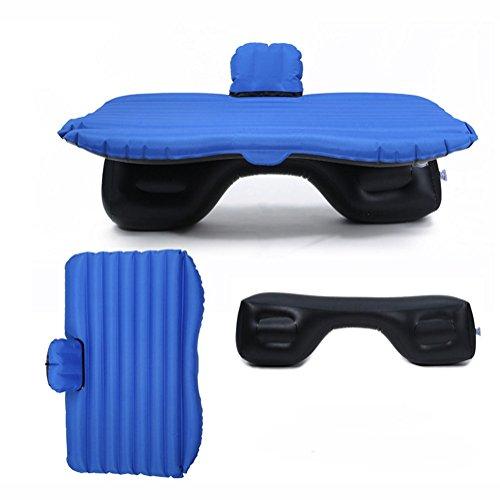 Auto Aufblasbare Matratze Auto Stoßdämpfer Matratze Oxford Aufblasbare Matratze Tragbare Outdoor Drehbank Kind Schutz Datei,Blue