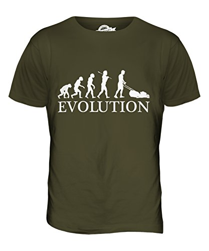 candymix-lawn-mower-evolution-of-man-mens-t-shirt-top-t-shirt-size-medium-colour-army