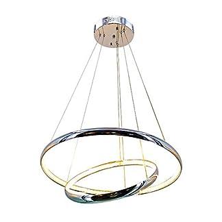 Lampadario rotondocristallo, lampadario moderno a cerchio LED
