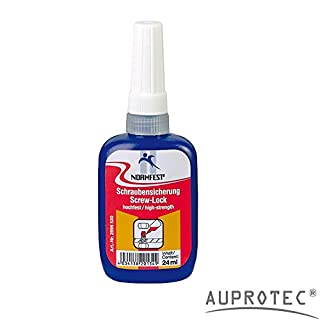 AUPROTEC Standard Screw Locking Safe Screw Lock Strong Hold Screws Sealing Adhesive 24ml