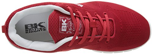British Knights Herren Energy Flach Rot