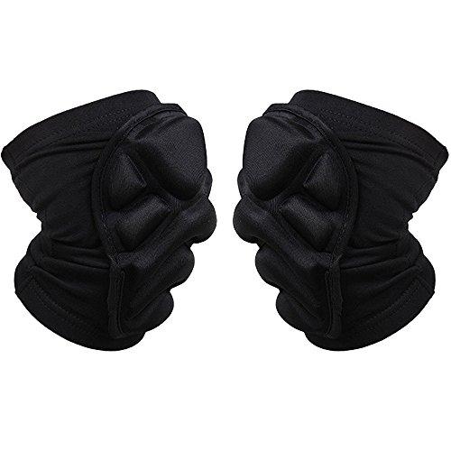 Preisvergleich Produktbild Max & Mix 2 Packungen (1 Paar) Knie Pad Schutz Kompression Wear - Herren und Damen Basketball Brace Support - Beste bewegungsunfähig zu,  Band & Wrap Knie für Volleyball,  Fußball,  Sport,  xl