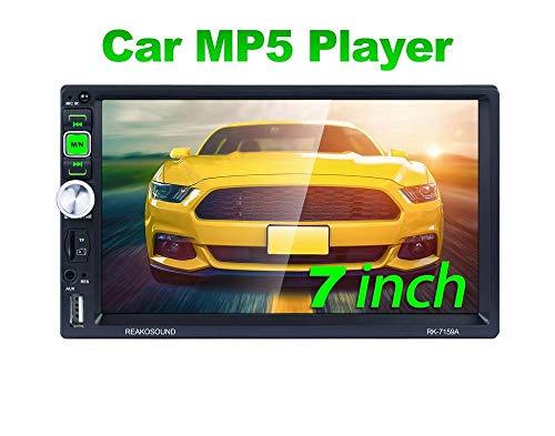 REAKOSOUND radio coche7 pulgadas de pantalla táctil capacitiva radio 2 din MP5...