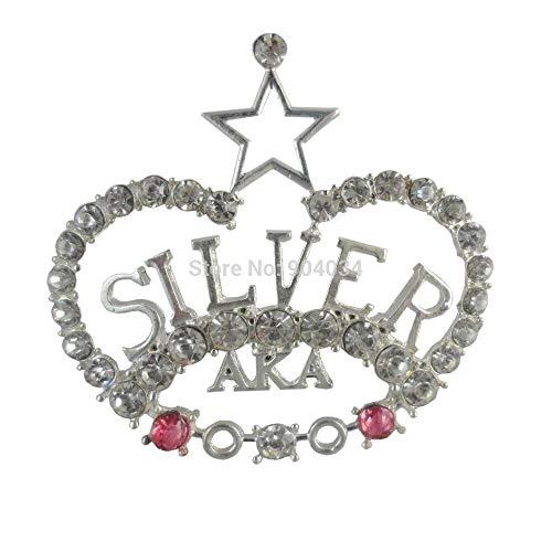 RQZQ Brosche griechischen Silberstern Perle Brosche