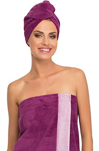 Merry Style Femme Turban 13007 (Violet/Rose, One Size)