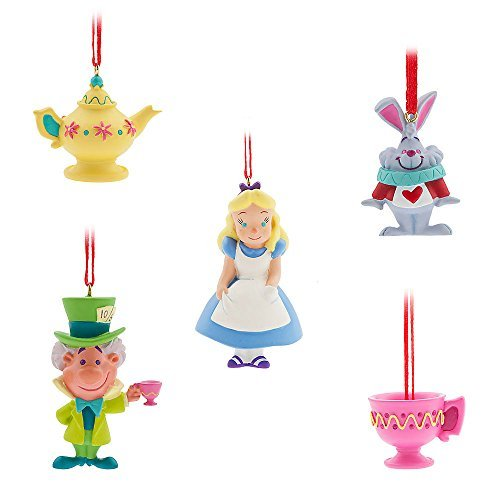 (Disney Alice Im Wunderland Einband Mini Ornament Set)