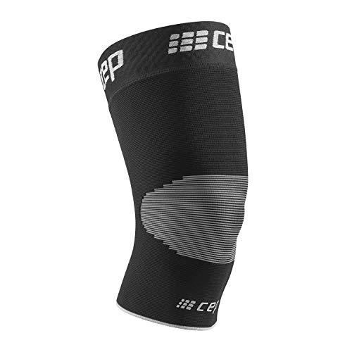 CEP - Ortho Knee Sleeve Unisex | Kniebandage für maximale Knie Stabilisierung in schwarz/grau | Größe V