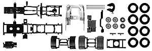 Herpa 082433 Extra - Chasis de Tractor Scania R Plomo Contenido de 3-Ejes: 2 Piezas