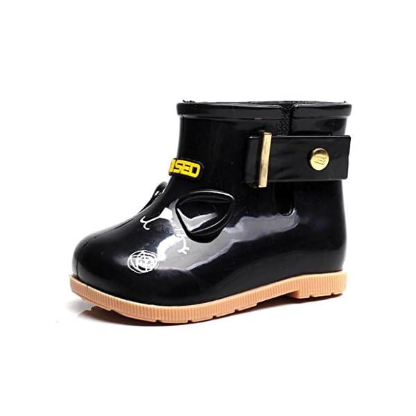 VNEIRW_Baby Rain Boots Kids Baby,VNEIRW Cartoon Shark Design Anti-Slip Rubber Boys Girls Rain Shoes Wellies
