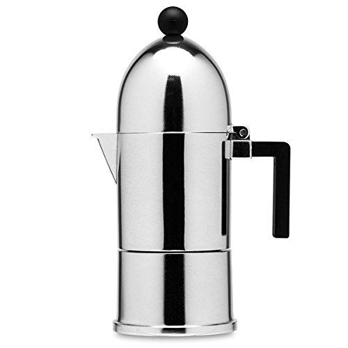 Alessi La cupola 6-cup by Aldo Rossi 1-cup Espresso Maker by Aldo Rossi