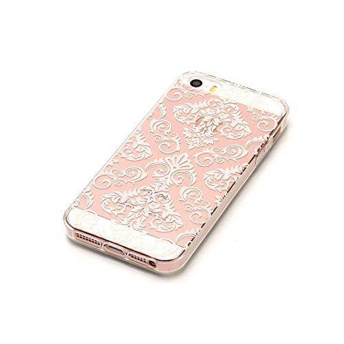 iPhone 5S Custodia,iPhone iPhone 5 / SE copertura, piuttosto gufo Patate Custodia in TPU Gel Ultra sottile [Trasparente] Custodia protettiva in gomma flessibile case cover para for iPhone 5 / SE /5S colour . 1