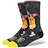 Stance NBA Kyrie Irving Sketchbook Socks - Yellow Medium