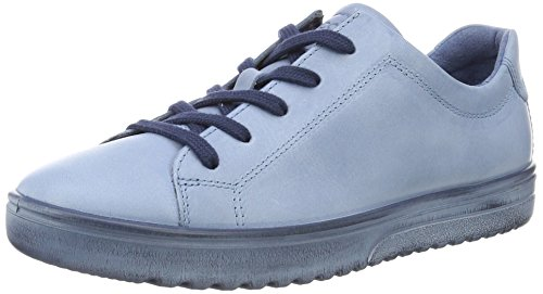 Ecco Damen Fara Derby, Blau (2471retro Blue), 41 EU