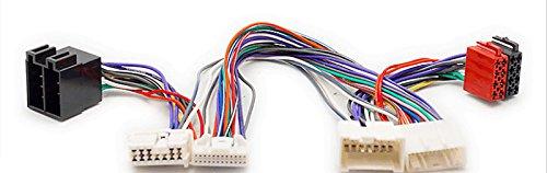carav 12-243ISO Radio Adapter für Renault 2012+ (Select Modelle)/Dacia 2011+ (Select Modelle) Draht Verkabelung Anschluss führen Loom Kabel Plug Adapter Stereo Radio-draht