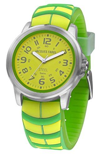 jacques-farel-montre-de-jeunes-jaune-fluo-vert-5-bars-sbr-838