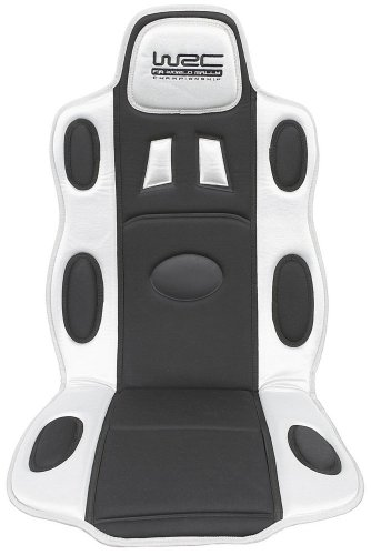 WRC cubre asiento sport negro/silver