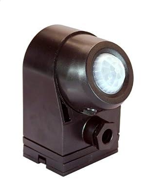 as - Schwabe 43812 Infrarot-Bewegungsmelder 360°, schwarz von as - Schwabe - Lampenhans.de