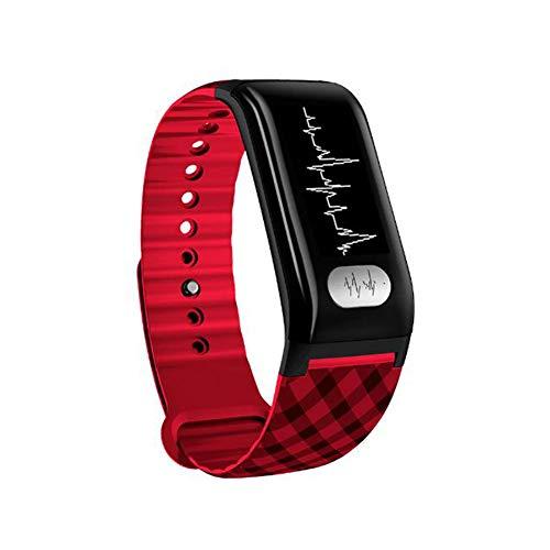 ACTIVITY TRACKER Fitness Armband,Pulsuhr Herzfrequenz/EKG + PPG/Blutdrucküberwachung IP67 Smartwatch