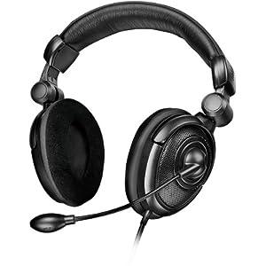 Speedlink Medusa NX Kopfhörer mit Mikrofon und Kabelfernbedienung für Xbox 360/PC/PS3 (faltbar, getrennter Chat und Gaming Sound, 3,5 mm-Anschluss)