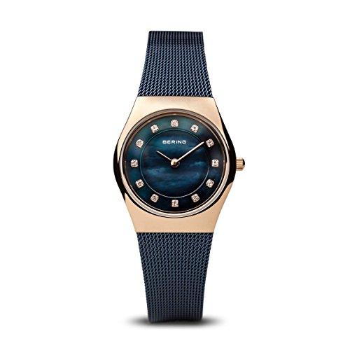BERING Damen-Armbanduhr Analog Quarz Edelstahl 11927-367