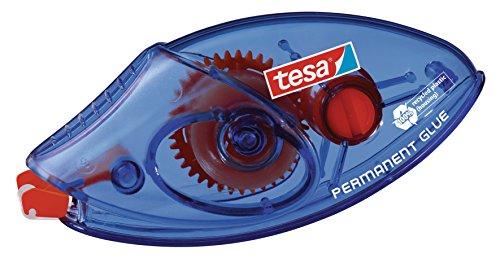 tesa Roller Permanent-Einwegklebeband (L x B): 8,5 M x 8,4 mm, blau