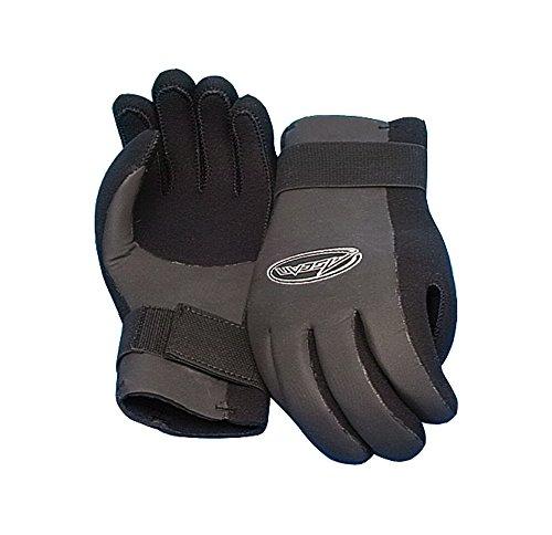 Segelhandschuhe Handschuhe Leder Super Soft 5 Finger geschnitten Größe XS
