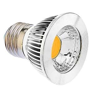 Ampoule-GU10 5W COB 325–400LM de LED lumière blanche chaud 3000 K Ampoule Spot 100–240 V)