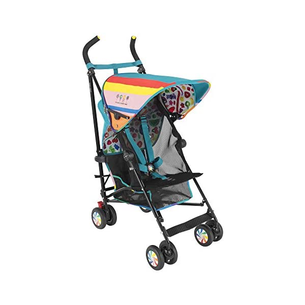 Maclaren Dylan's Candy Bar Volo Stroller - super lightweight, compact Maclaren Basic weight of 3.3kg/7.2lb; ideal for children 6 months and up to 25kg/55lb Maclaren is the only brand to offer a sovereign lifetime warranty Extendable upf 50+ sun canopy and built-in sun visor 22