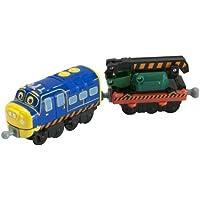 Tomy LC54125 Chuggington - Die Cast serie - Stack Track Brewster e La sua Scavatrice