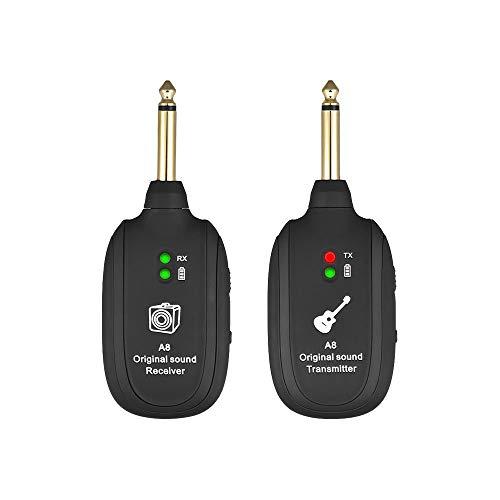 xinzhi Gitarre Saiten-Instrumente Tonabnehmer Wireless System Gitarristen Musikinstrumente Beth 220Hz-20kHz