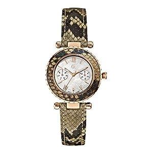Guess Reloj Análogo clásico para Mujer de Cuarzo con Correa en Acero