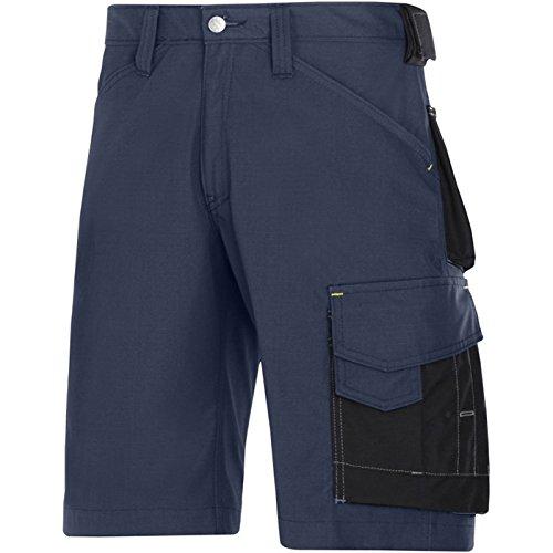 Snickers Handwerker Shorts Olive Gr. 54 Marineblau/Schwarz