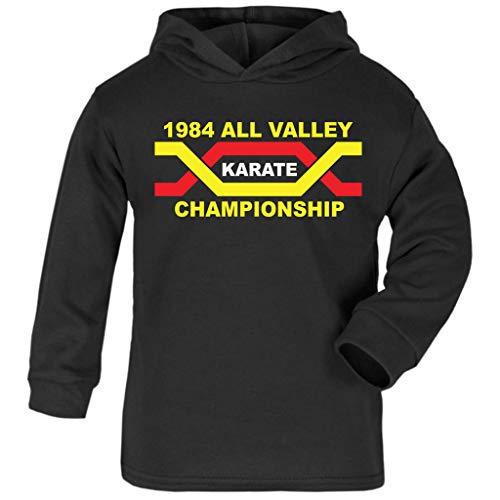Cloud City 7 1984 All Valley Karate Kid Championship Baby and Kids Hooded ()