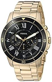 Fossil Men's Analog Quartz Watch with Stainless-Steel S