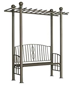 clp arche rosiers m tallique pergola ulpgar 02 arceau de jardin en m tal support pour. Black Bedroom Furniture Sets. Home Design Ideas