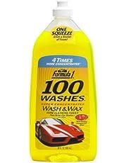 Formula 1 100 Washes Wash and Wax (828 ml)
