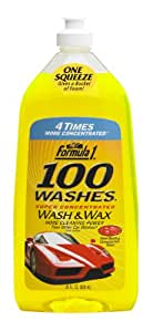 Formula 1 100 Washes Wash and Wax (828 ml)