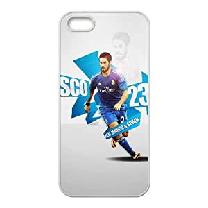 Isco 2014 Real Madrid Wallpaper iPhone 5 5S Cell Phone Case White Cell Phone Case Cover EEECBCAAK71170