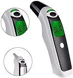 xing, termometro per Il Corpo, Senza Contatto, a infrarossi, per Fronte e Orecchio, per Bambini e Adulti, 3 in 1